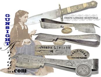 mid 1800s  -Joseph Lingard, Sheffield – TAILOR / SEAMSTRESS TOOL  (Image1)