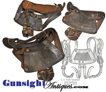 U. S. Army Mod. 1873 KNAPSACK CARRYING BRACE (Image1)