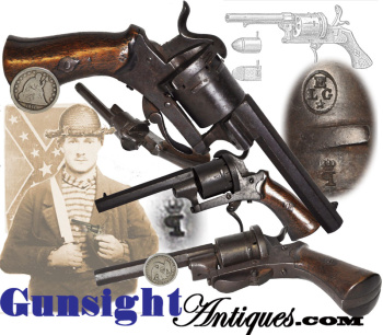 Private Purchase Lefaucheux Pinfire Revolver