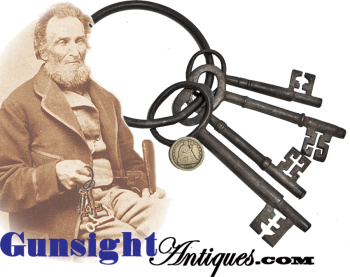 19th Century  JAILOR STYLE  KEY-RING (Image1)