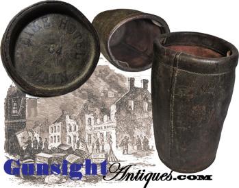 Civil War vintage - Dime Hotel Richmond, Virginia – FIRE BUCKET (Image1)