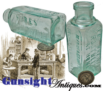 19th century Charles E. Hires Co. -  ROOT BEER EXTRACT - Bottle (Image1)