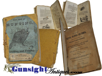 original! 1874 edition – The Art of Hunting, Trapping & Fishing  (Image1)