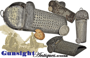 earlier 1800's through Civil War era COFFIN NUTMEG GRATER (Image1)