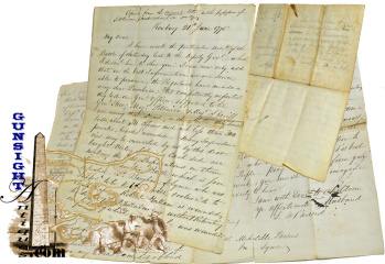 18th century penned copy: Revolutionary War General S. H. Parsons - BUNKER HILL BATTLE LETTER (Image1)