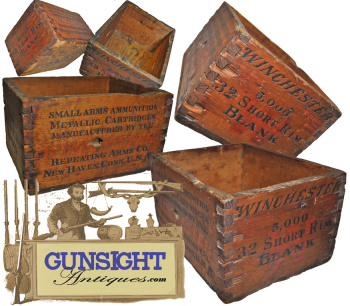 Winchester Repeating Arm Co. - 5,000 - .32 Short Rim Fire - Ammunition Box