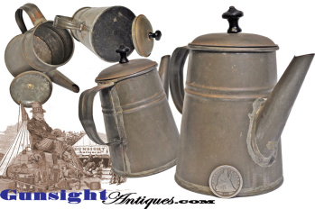 Civil War period personal size 1 cup COFFEE POT (Image1)