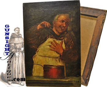 19th century Monk – OIL PAINTING (Image1)