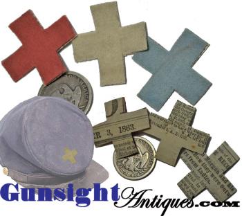 Civil War surplus - W. Stokes Kirk Phila. – Military Surplus 6th CORPS BADGE (Image1)