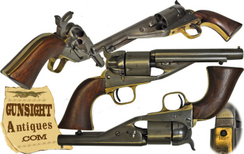 scarce! Colt New Model 1861 Navy – RICHARD / MASON Cartridge Conversion (Image1)