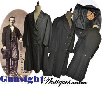 Civil War vintage Gentleman's FROCK COAT (Image1)