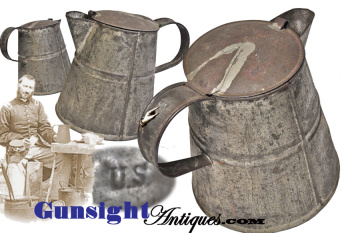 original!  U.S. Marked  Civil War vintage COFFEE POT (Image1)