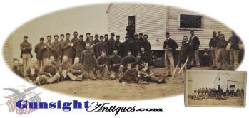rare !  Civil War CDV – 18th Maine then 1st Maine Heavy Artillery  (Image1)