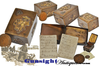 ethnic Americana - Helena Montana Chinese Settlement - 1892 acquired - STAMP BOX (Image1)