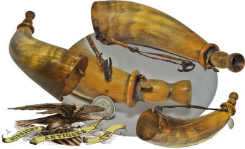 antique hunting or SOUNDING HORN (Image1)