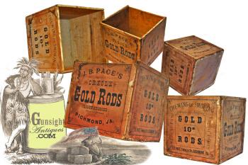 mid-19th century Richmond, Va. – TOBACCO BOX (Image1)