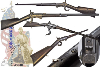 2nd Illinois Cavalry issue – Confederate Captured & Reissued – Burnside Carbine (Image1)