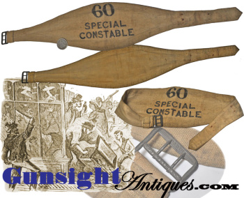 antique SPECIAL CONSTABLE  -  ARM BAND  (Image1)