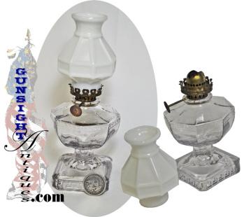 vintage bedside or 'CHAMBER' LAMP (Image1)