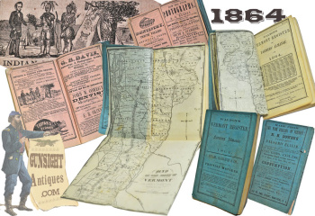Walton's Vermont Register & Farmer's Almanac – WITH MAP (Image1)