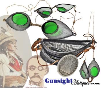 Civil War era PROTECTIVE GLASSES (Image1)