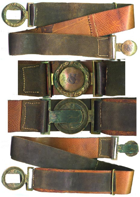 Civil War Era Confederate Waist Belt