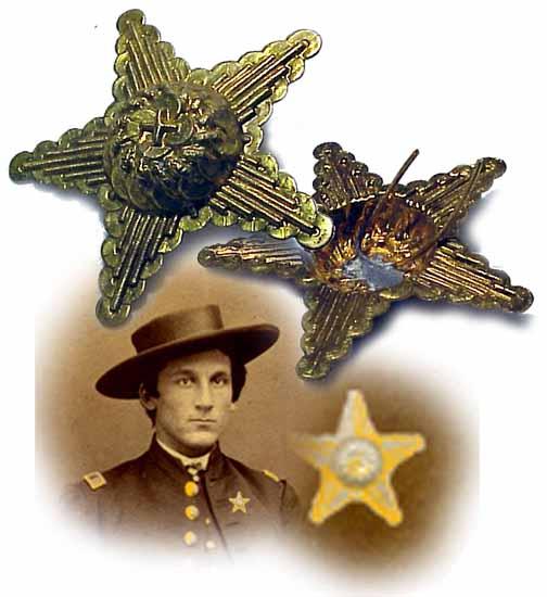 Civil War era PATRIOTIC BADGE (Image1)