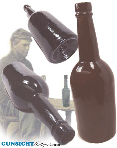 CIVIL WAR era SPIRITS BOTTLE (Image1)