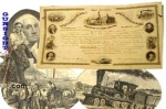 Click here to enlarge image and see more about item 1840: 1862 Phila. BOND to THE NORTHERN SOUP SOCIETY