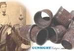 Click here to enlarge image and see more about item 1927: Civil War era IRON THIMBLE