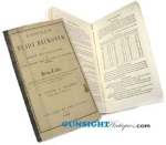 Click here to enlarge image and see more about item 1957: 1863  READY RECKONER