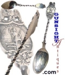 Click here to enlarge image and see more about item 1976: Norfolk, Virginia CONFEDEDRATE MEMORIAL SILVER SPOON