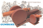 Click here to enlarge image and see more about item 2000: GETTYSBURG Civil War SOUVENIR CANNON