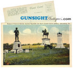 Click here to enlarge image and see more about item 2089: c. 1915 – 1930's GETTYSBURG  POSTCARD