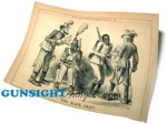Click here to enlarge image and see more about item 2160: Civil War Punch Cartoon – THE BLACK DRAFT