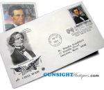 Click here to enlarge image and see more about item 2560: JEFFERSON DAVIS 1st Day Postal Cover