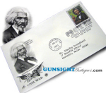 Click here to enlarge image and see more about item 2569: FREDERICK DOUGLASS  1st Day Postal Cover