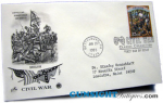 Click here to enlarge image and see more about item 2626: Battle of SHILOH 1st Day Postal Cover