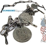 Maine Civil War Vet's WATCH CHAIN