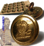 Click here to enlarge image and see more about item 2882: Civil War era MILITIA BUTTONS