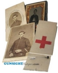 Civil War Army Hospital Nurse (8th NH Inf.) PHOTO GROUP