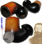Civil War vintage MEERSCHAUM PIPE