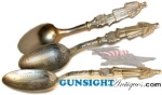 Click here to enlarge image and see more about item 3008: CHICKAMAUGA BATTLEFIELD - SOUVENIR SPOON