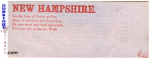 Pro CONFEDERATE – New Hampshire POSTAL COVER