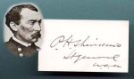 Click here to enlarge image and see more about item 310: CIVIL WAR GENERAL    SHERIDAN  AUTOGRAPH