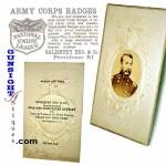 Civil War - Gen. Phil Sheridan  ADVERTISING CDV