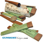 Click to view larger image of Civil War era French Import : CIGARETTE (CIGARILLO) PAPERS (Image2)