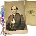 Civil War CDV - Mjr. General Robert S. Granger as Captain