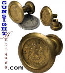 Click here to enlarge image and see more about item 3601: brass PATRIOTIC FASTENER