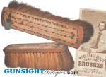 Click here to enlarge image and see more about item 3605: 19th century – J. A. Keane's NEW SWEEPING BRUSH